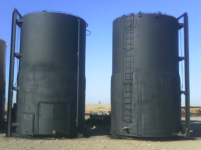 Spray Insulation for Tanks and Silos | Spray On Systems
